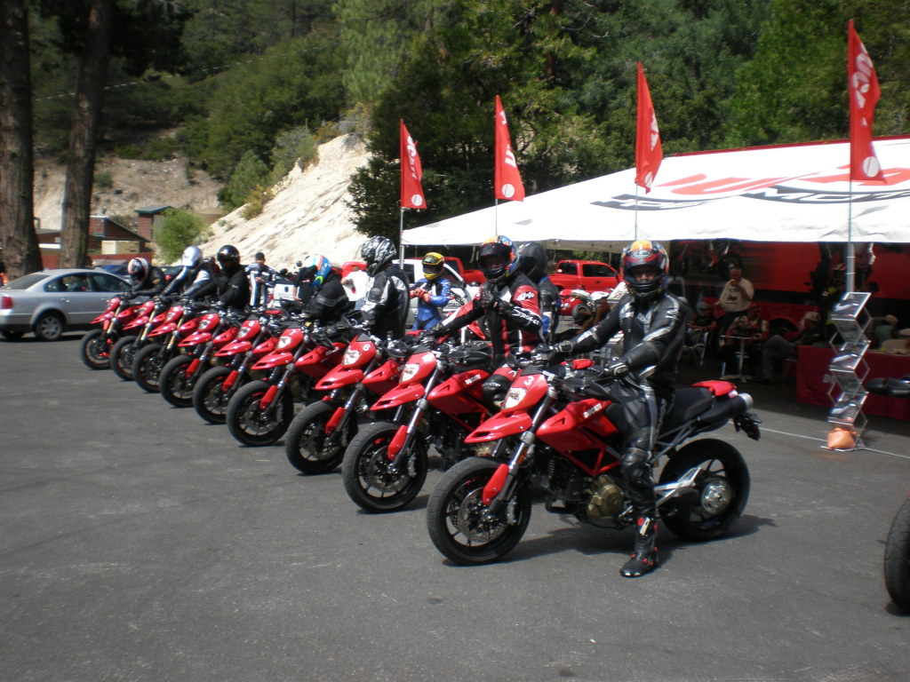 Ducatis Hypermotard Test Ride at Newcombs Ranch