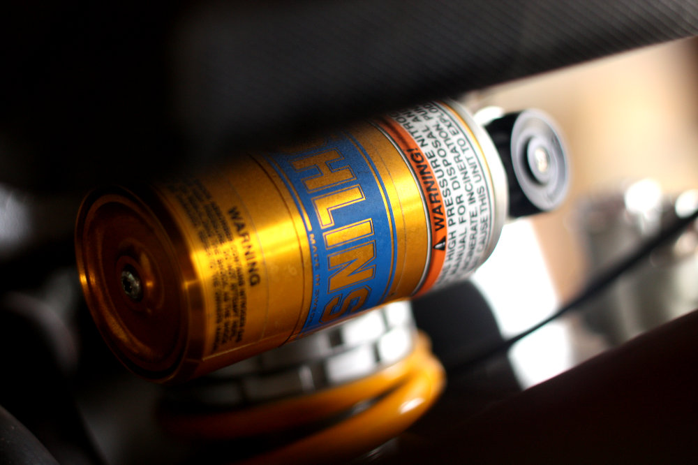 Ohlins makes excellent but expensive shocks