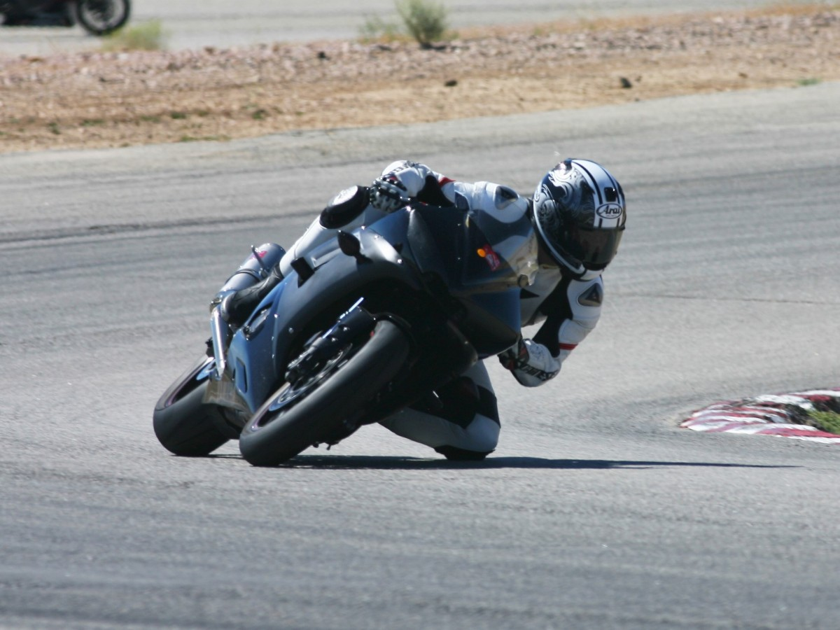 My trusty R6 still gets it done at the track
